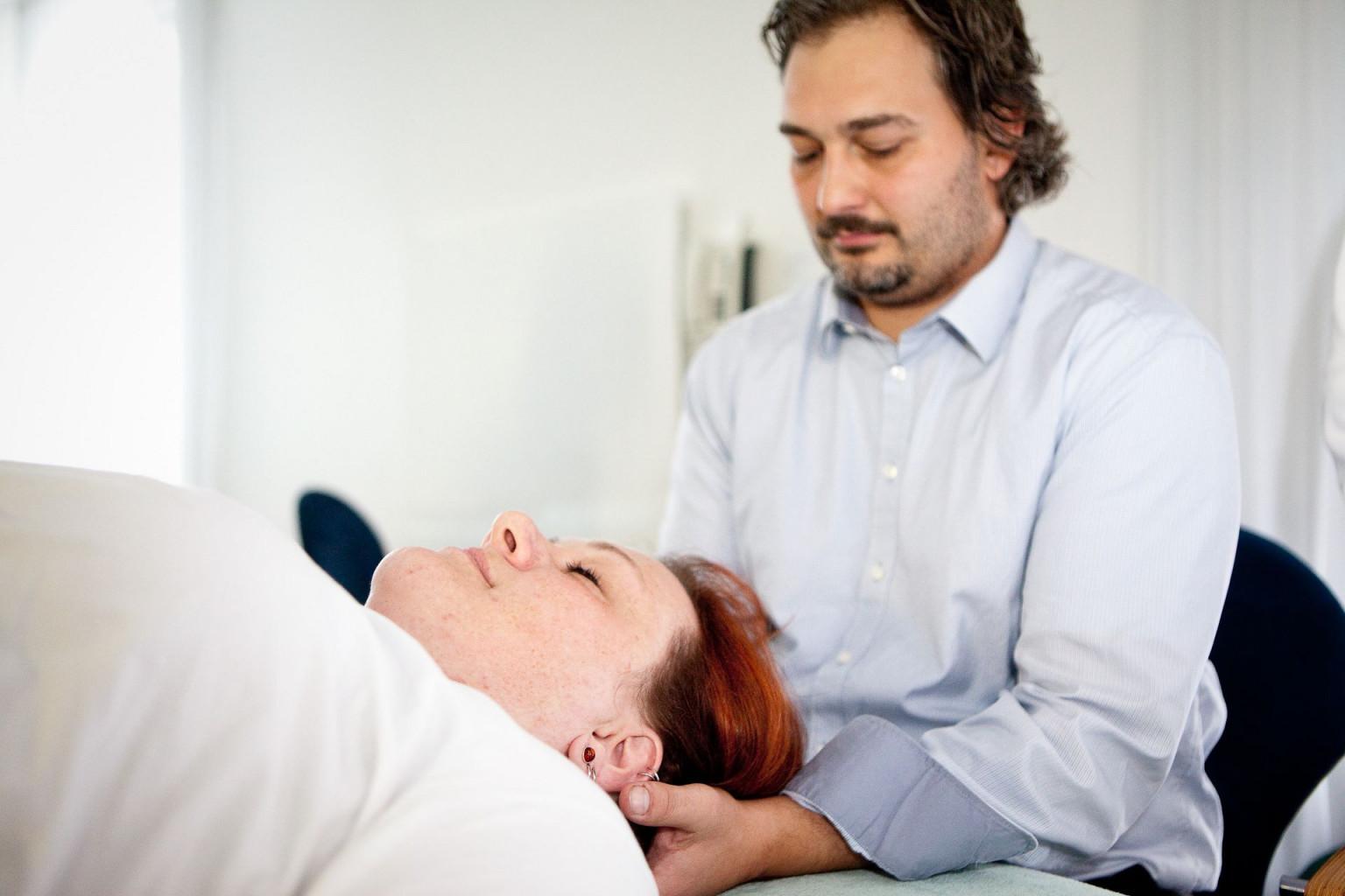 Cranio sacrale Behandlung